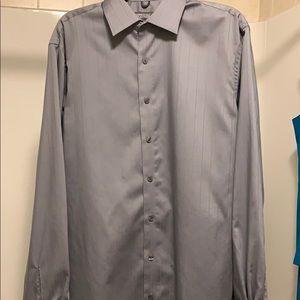 Kenneth Cole Reaction Men's dress shirt 15 1/2 LS